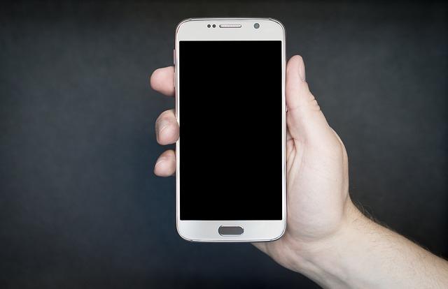 smartphone obrazovka