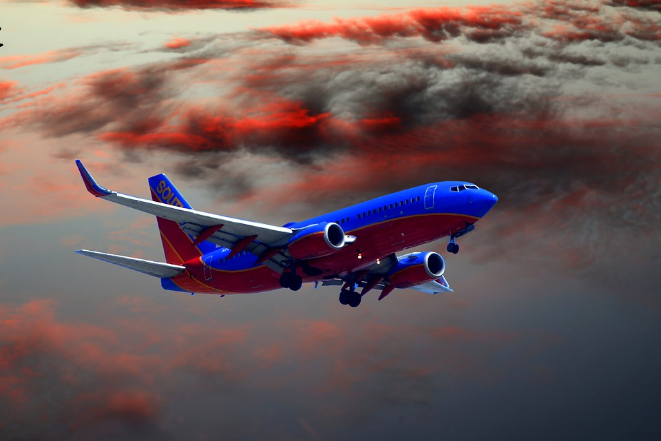 modré letadlo